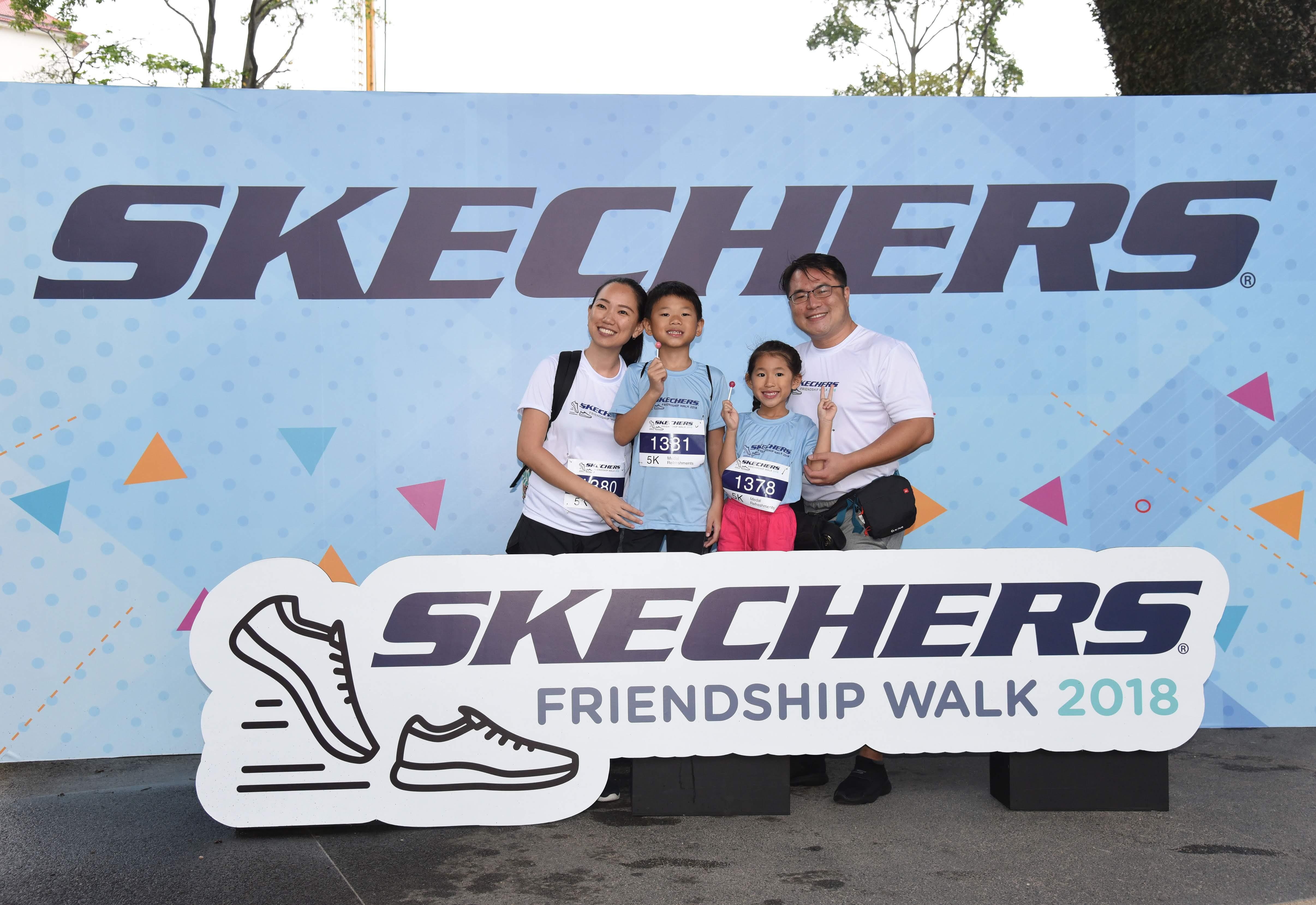 Skechers Friendship Walk 2018 Amazingly Still